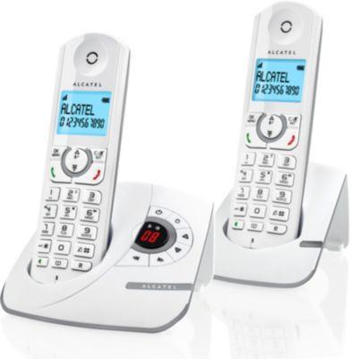 Téléphone sans fil Alcatel F390 Voice Duo Grey