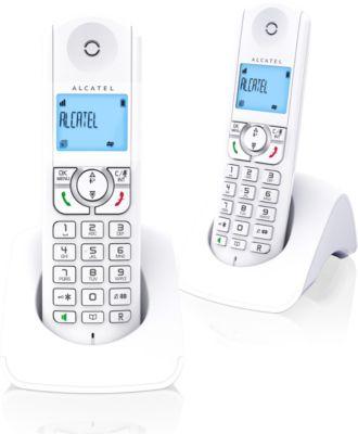 Téléphone sans fil Alcatel F360 Duo Blanc