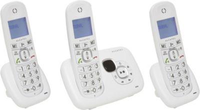 Téléphone sans fil Alcatel XL385 Voice Trio Blanc