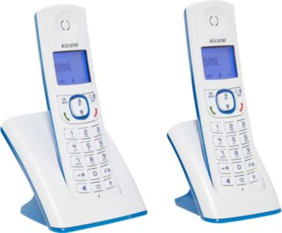 Téléphone sans fil Alcatel F530 Duo Bleu