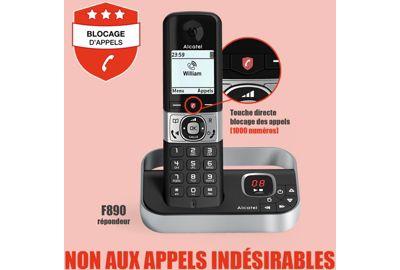 Pack ALCATEL F890 Voice Duo Noir
