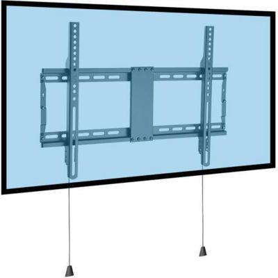 kimex mural fixe cran 37 80 syst me antivol support tv. Black Bedroom Furniture Sets. Home Design Ideas
