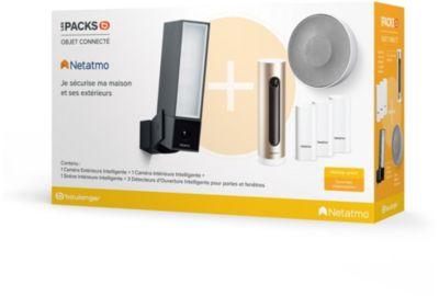 Pack sécurité NETATMO Pack Je sécurise ma maison et ses ext