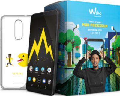 Smartphone Wiko Pack Mon précieux View 32Go Black