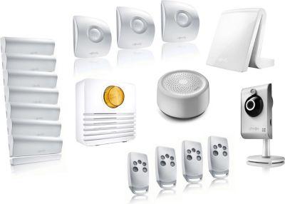 somfy pack alarme connect e tahoma video kit 4 alarme maison boulanger. Black Bedroom Furniture Sets. Home Design Ideas