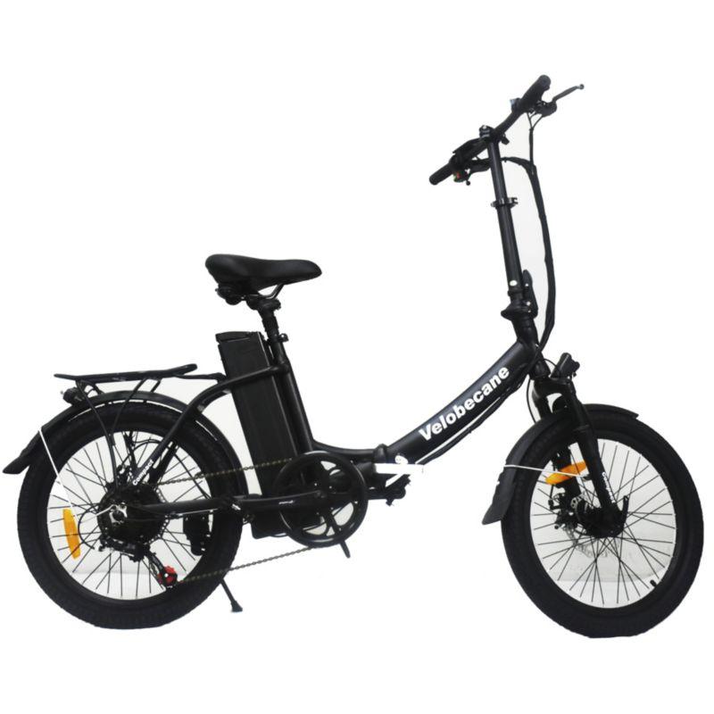 Vélo électrique VELOBECANE Compact noir