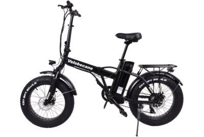 Vélo VAE VELOBECANE Snow noir