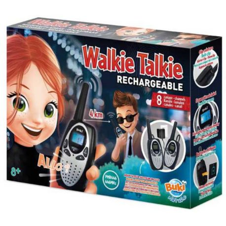 Jeu BUKI Talkie Walkie rechargeable