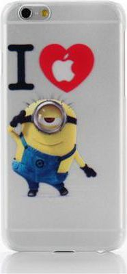 symphone e i love minion iphone 6 plus 5 5 accessoire. Black Bedroom Furniture Sets. Home Design Ideas