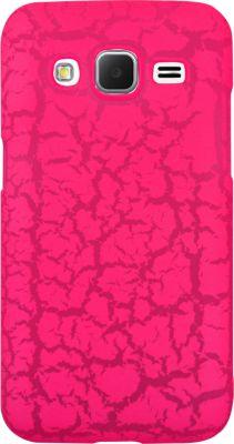 Coque So Seven Core Prime Fluo rose craquelé+Bracelet