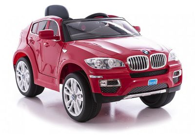 e road bmw x6 rouge voiture lectrique enfant boulanger. Black Bedroom Furniture Sets. Home Design Ideas