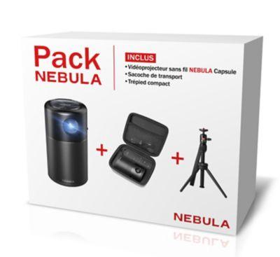 Vidéoprojecteur portable Nebula Pack Capsule + Trépied + Sacoche