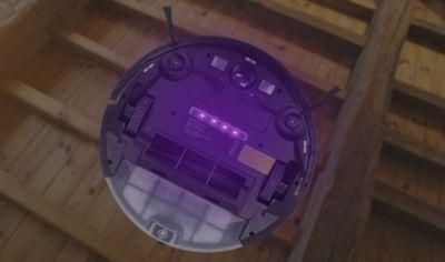 Robot aspirateur et laveur AMIBOT Pure Laser H2O 4 lampes UV-C
