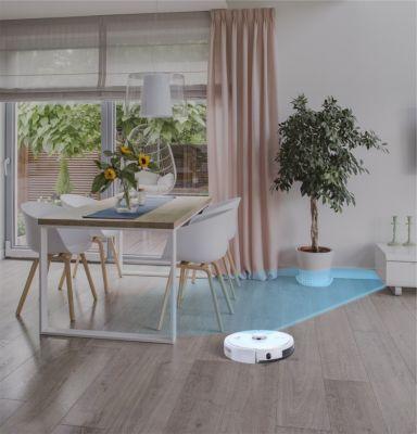 Robot aspirateur et laveur AMIBOT Pure Laser H2O