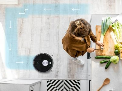 Robot aspirateur laveur DOMOOVA DRV100 Animal
