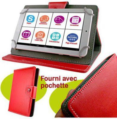 Mobiho tablette senior 7 pouce pochette rouge tablette for Boulanger etui tablette