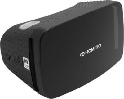 Casque de réalité virtuelle homido casque vr grab noir