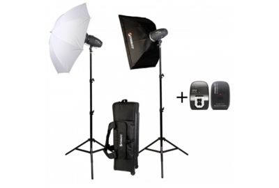 Flash STARBLITZ Kit studio 2x400W