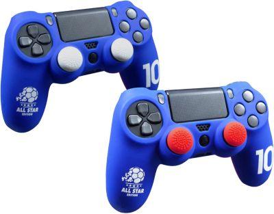 Housse de protection subsonic kit manette ps4 bleu