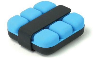 Bac À glaçons cookut cube - bleu avec pince