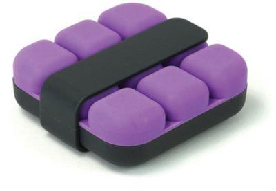 Bac À glaçons cookut cube - violet avec pince