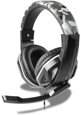 Casque Gamer steelplay casque hp42 camouflage