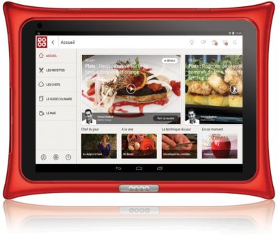 Tablette Android Qooq V4 Rouge