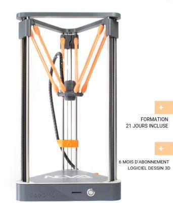 Imprimante 3D Dagoma Magis montée