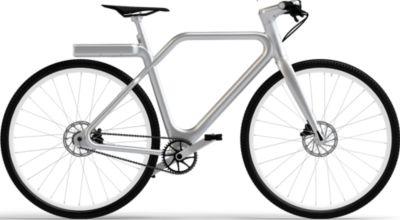 Vélo à assistance électrique Angell Bike Argent