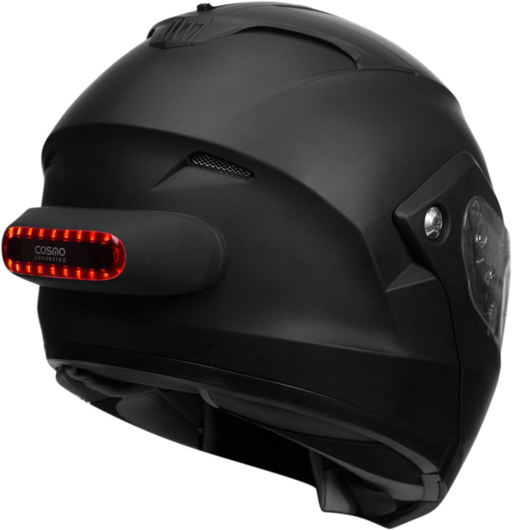 Feu connecté casque moto Cosmo