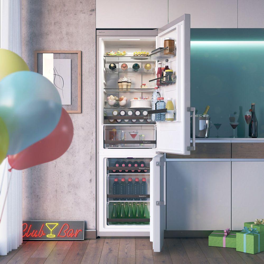 Réfrigérateur combiné idéal pour conserver les aliments