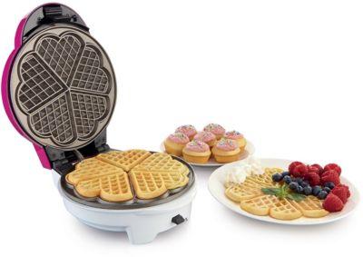 Machine à gâteaux Gorenje WCM702PW gaufres coeur et cupcakes