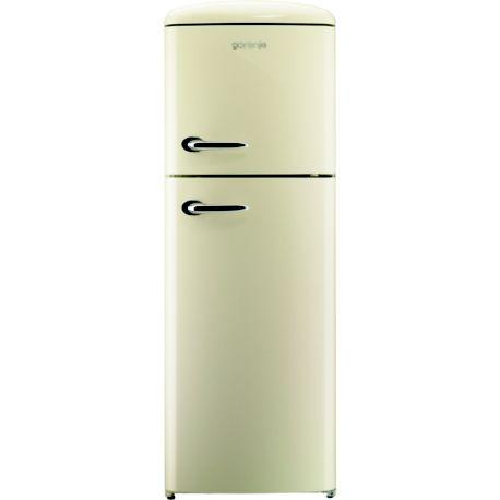 Réfrigérateur 2 portes GORENJE RF60309OC CREME