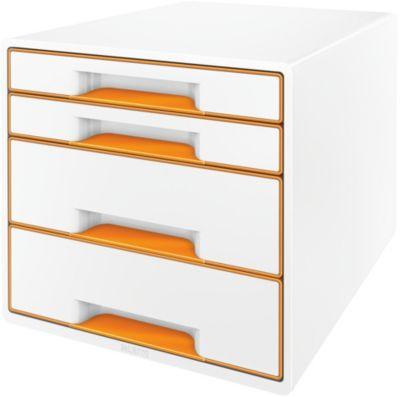 Bloc Tiroir leitz bloc de classement tiroirs wow orange