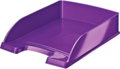 Bannette Bureau leitz corbeille courrier a4 wow violet