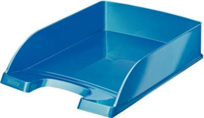 Bannette Bureau leitz corbeille courrier a4 wow bleu