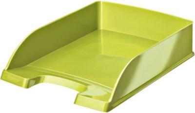 Bannette Bureau leitz corbeille courrier a4 wow vert