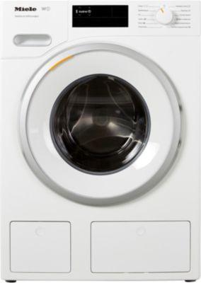 Lave linge hublot Miele EX WWE 660 + Sèche linge pompe à chaleur Miele TWF 500 WP EditionEco