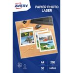 Papier AVERY 50 Feuilles papier photo br