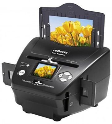 Scanner portable Reflecta Slide Negative Scanner 3 in 1 Black