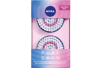 Brosse NIVEA Pure Skin Kit Peaux sensible