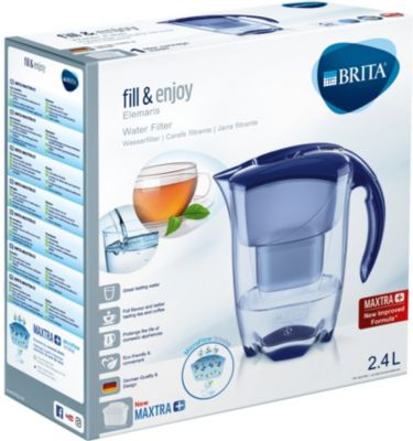 brita elemaris bleu royal 1 cartouche maxtra carafe. Black Bedroom Furniture Sets. Home Design Ideas