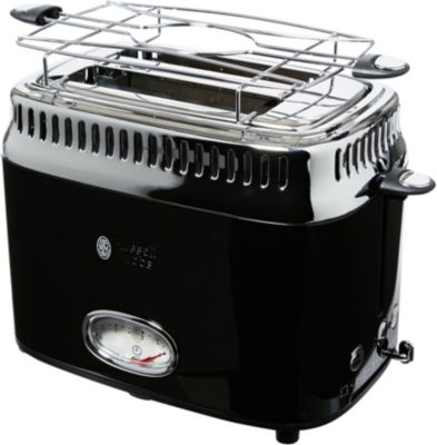 grille pain russell hobbs 21681 56 retro noir boulanger. Black Bedroom Furniture Sets. Home Design Ideas