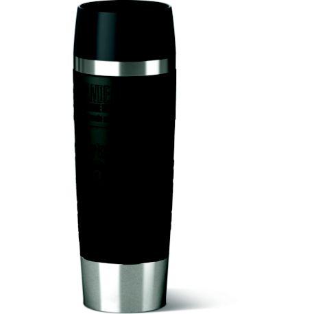 Mug EMSA Isotherme 0.5L inox/noir
