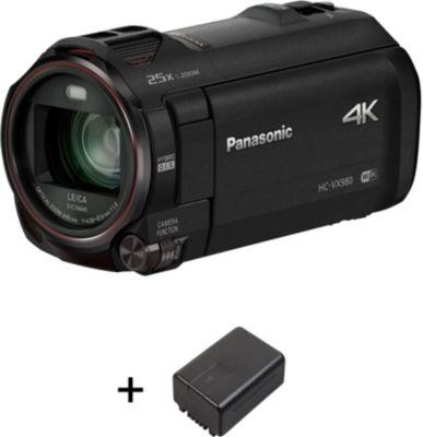 Caméscope Panasonic HC-VX980 Pack 2ème batterie