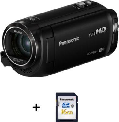 Caméscope Panasonic HC-W580 + SD 16Go