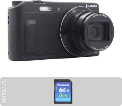 Appareil photo Compact Panasonic DMC-TZ57 + SD 8Go