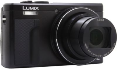 Appareil Photo compact panasonic dmc-Tz80 noir + sacoche + sd 8go