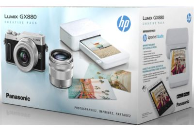 APN PANASONIC GX880 Silver kit 12-32mm 35-100mm+Imp HP