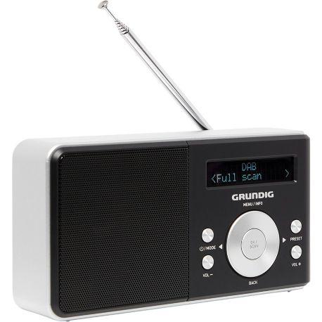 Radio GRUNDIG Music 50 DAB+ Noir et Argent